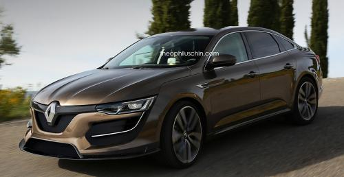 renault talisman rs na wizualizacji. Black Bedroom Furniture Sets. Home Design Ideas