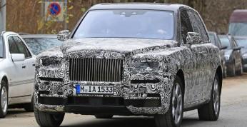 Rolls-Royce Cullinan coraz bliżej