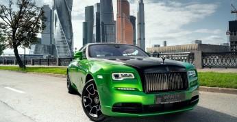 Rolls-Royce Wraith Black & Bright Collection - trzy unikatowe...