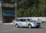 Skoda Superb Combi i Yeti - crash-test
