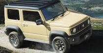 Suzuki Jimny - nowe wcielenie kultowej terenówki
