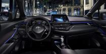 Toyota C-HR - tak wygl�da wn�trze ma�ego crossovera