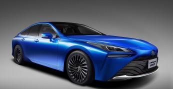 Toyota Mirai - druga generacja drastycznie zmieni design