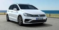 Volkswagen Golf Sportsvan w wydaniu R-Line wje�d�a do salon�w