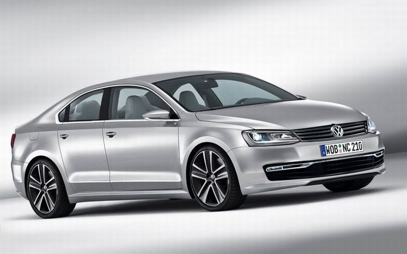 Nowy Volkswagen Passat Wizualizacja