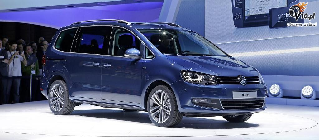volkswagen sharan facelift 2015 1. Black Bedroom Furniture Sets. Home Design Ideas