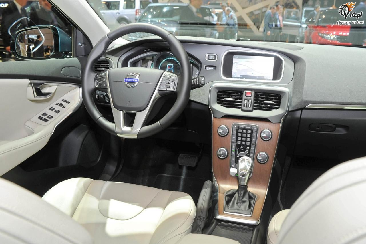 Volvo v40 2012 6 for Interieur xc40
