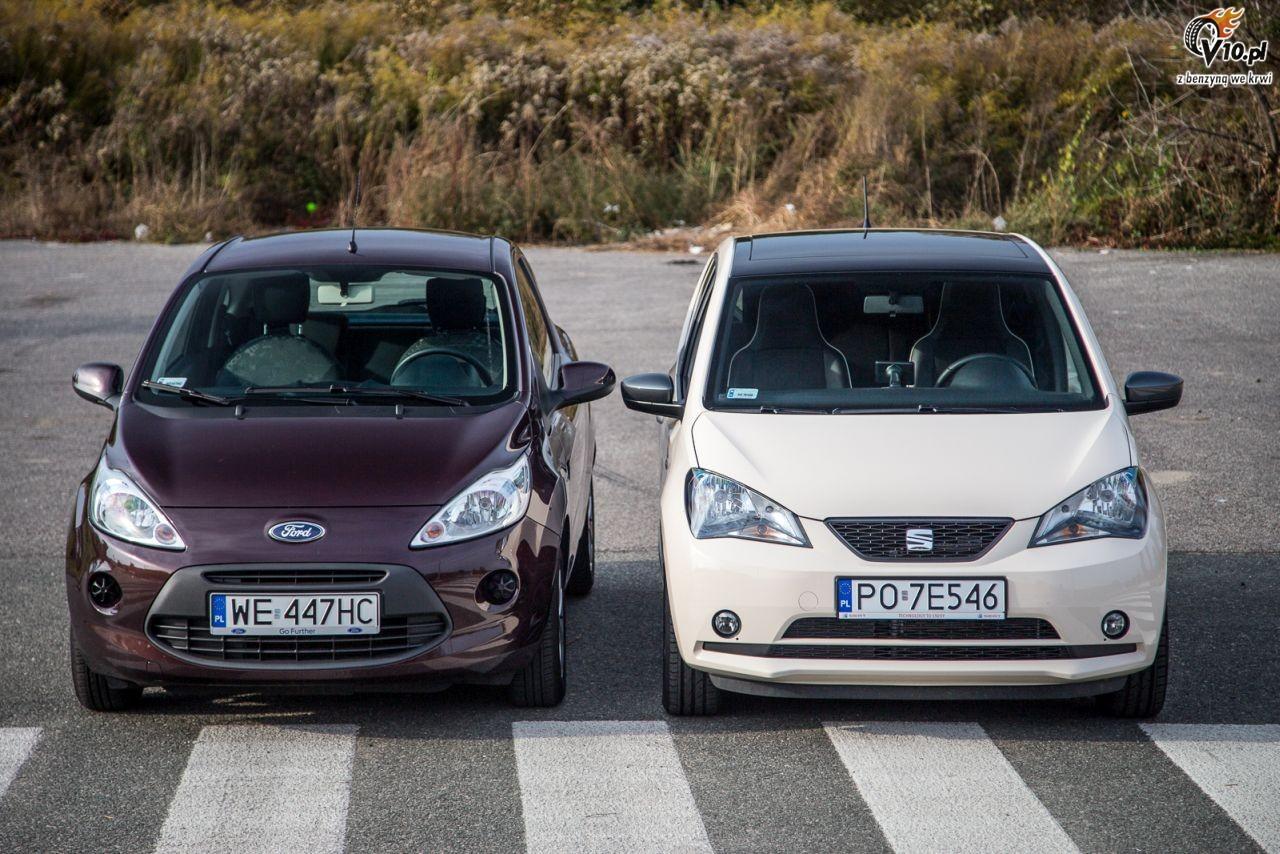 Ford Ka Vs Seat Mii Test