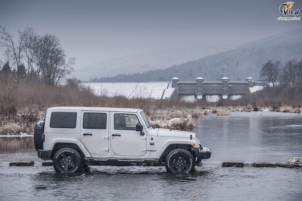 jeep wrangler arctic test 13. Black Bedroom Furniture Sets. Home Design Ideas