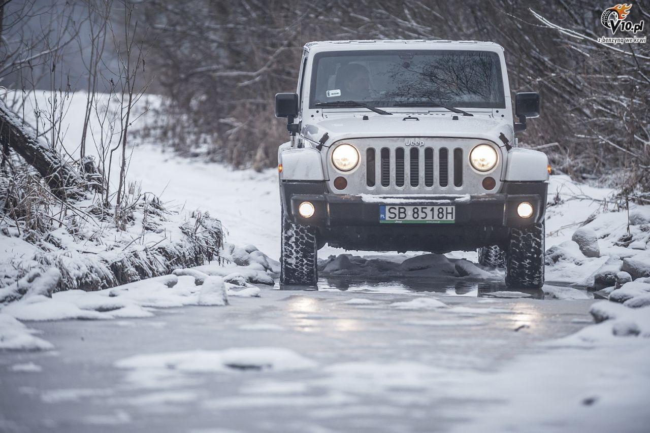 jeep wrangler arctic test 22. Black Bedroom Furniture Sets. Home Design Ideas