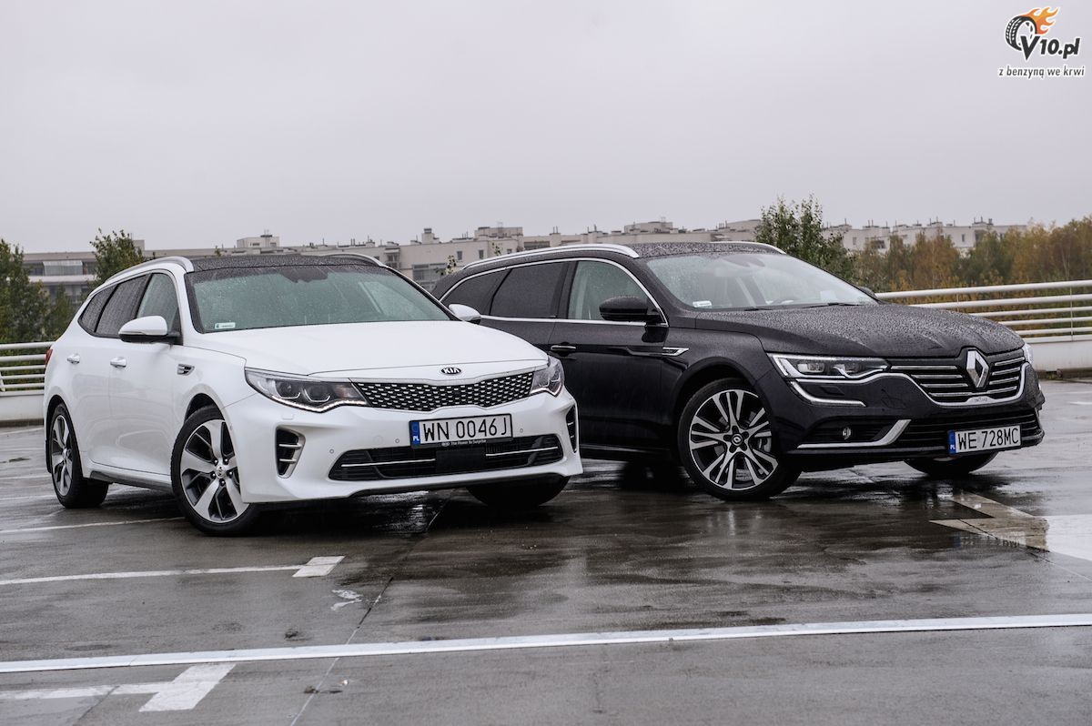 kia optima sw vs renault talisman test 16. Black Bedroom Furniture Sets. Home Design Ideas