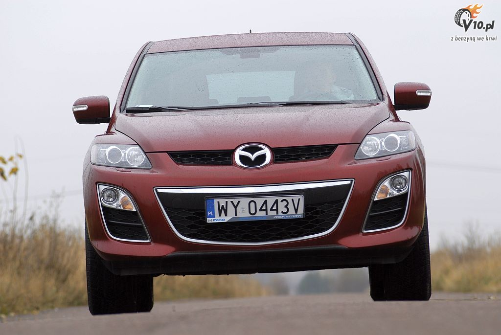 mazda cx7 test 17. Black Bedroom Furniture Sets. Home Design Ideas