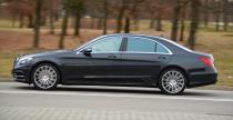 Mercedes S500 Hybrid - W strefie ciszy - nasz test