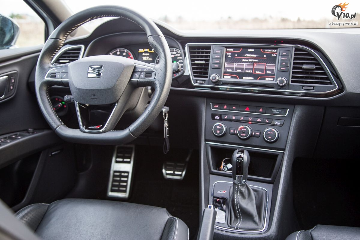 seat leon st cupra i xperience test 09. Black Bedroom Furniture Sets. Home Design Ideas