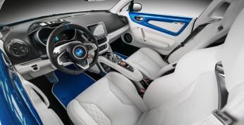 Alpine A110 z wnętrzem godnym auta klasy premium od Carlex Design