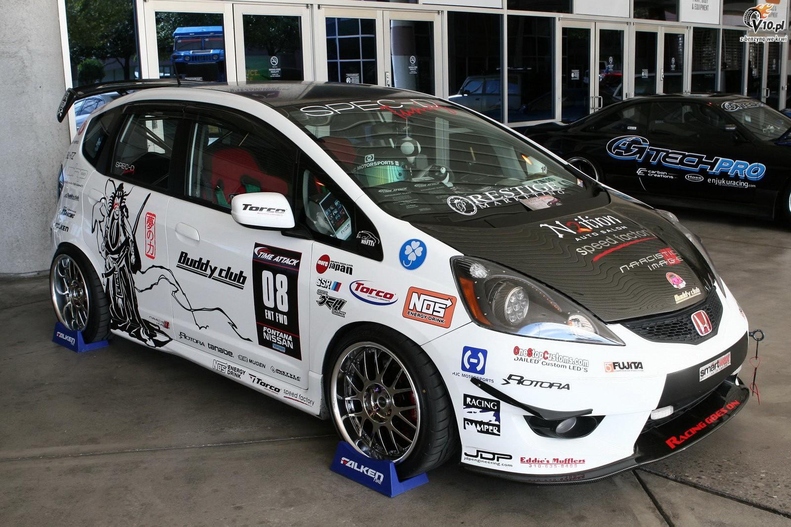 Sema 2010 Honda Fit 2009