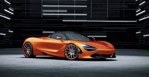 McLaren 720S po kuracji wzmacniającej w Wheelsandmore