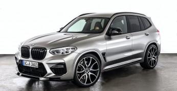 BMW X3 M Competition - delikatny pakiet stylistyczny i zastrzyk...