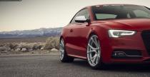 Audi S5 z perfekcyjnymi felgami Vorsteiner