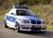 BMW 123d Coupe tuning AC Schnitzer - radiowóz