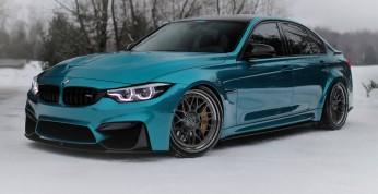 BMW M3 w kolorze Atlantis Blue - idealne spasowanie