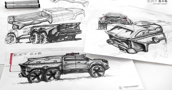 X-Class Exy 6x6 Concept