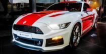 Mustang od Carlex Design w barwach narodowych