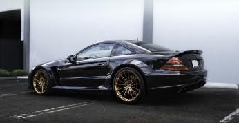 Mercedes-Benz SL65 AMG Black Series na kołach HRE - nic więcej...