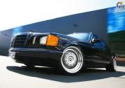 Mercedes klasy S W126 tuning old school Inden Design