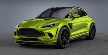 Aston Martin DBX trafił na warsztat Lumma Design