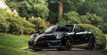 Porsche 911 Turbo solidnie wzmocnione przez Manhart