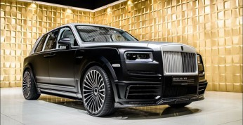 Rolls-Royce Cullinan Billionaire od Mansory trafił na rynek wtórny