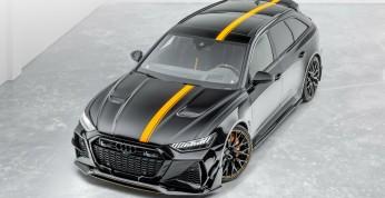Audi RS6 Mansory - kompletny pakiet dla sportowego kombi