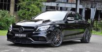 Mercedes C63 AMG S Brabus jedzie do Frankfurtu