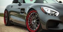 Mercedes AMG GT S z felgami HRE