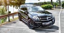Mercedes GL Black Crystal od Larte Design jedzie do Essen