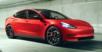 Tesla Model 3 - sportowe nadwozie i luksusowe wnętrze od Novitec