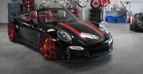 Porsche 911 Turbo S Cabrio ubrane w felgi Forgiato