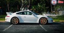 Porsche 911 GT3 RS z felgami HRE - zgrany duet