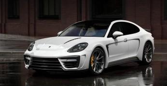 Rosjanie wzięli na warsztat Porsche Panamerę. Co z tego wyszło?
