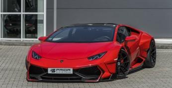 Lamborghini Huracan ekstremalnie poszerzony przez Prior Design