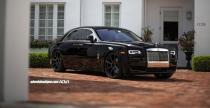 Rolls Royce Ghost ubrany w felgi ADV.1