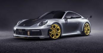 Porsche 911 z kompletem modyfikacji od TechArt