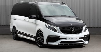 Mercedes V z pakietem stylistycznym od TopCar