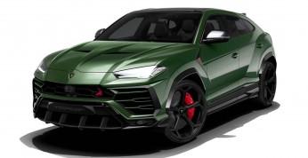 Lamborghini Urus po pierwszym tuningu