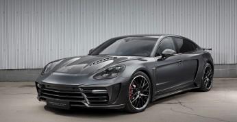 Porsche Panamera LWB z pakietem stylistycznym od TopCar