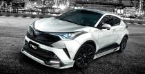 Toyota C-HR w pakiecie tuningowym TRD - nie do przeoczenia