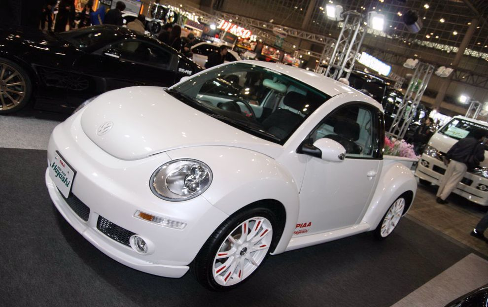 volkswagen new beetle pickup tuning hayashi car tuning