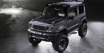 Suzuki Jimny Black Bison, czyli efektowny pakiet od Wald International