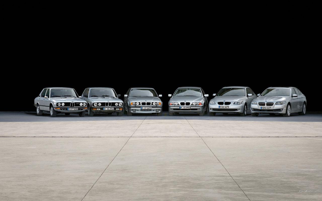 Bmw 5 Series 1280x800 B122 Tapety Na Pulpit Samochody